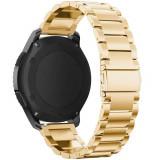 Cumpara ieftin Curea metalica Smartwatch Samsung Gear S3, iUni 22 mm Otel Inoxidabil, Gold