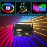 Laser 1GB RGB cu iluminat pentru petreceri 2D / 3D / SD