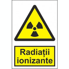 Indicator Radiatii ionizante - Semn Protectia Muncii