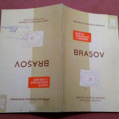Brasov. Nota explicativa  Institutul Geologic, 1968 - Nu contine harta