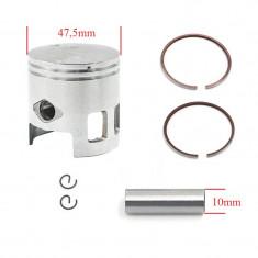 Piston + Segmenti Scuter Benero 80cc 47.5mm bolt 10mm