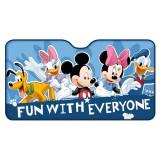Parasolar pentru parbriz Mickey and Friends Disney Eurasia 26063, 130 x 70 cm