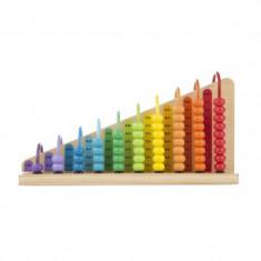 Numaratoare adunarea si scaderea, 18 x 33 x 10 cm, Multicolor, Melissa & Doug