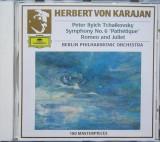 Tschaikowsky - Symphonie Nr.6 Pathétique, Romeo und Julia CD Deutsche Grammophon