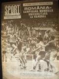 Revista Sport (nr. 6 din iunie 1987) - Steaua a 12-a oara campioana la fotbal