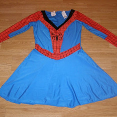 Costum carnaval serbare spiderman spidergirl pentru adulti marime S-M, S/M, Din imagine