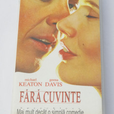 Caseta video VHS originala film tradus Ro - Fara Cuvinte