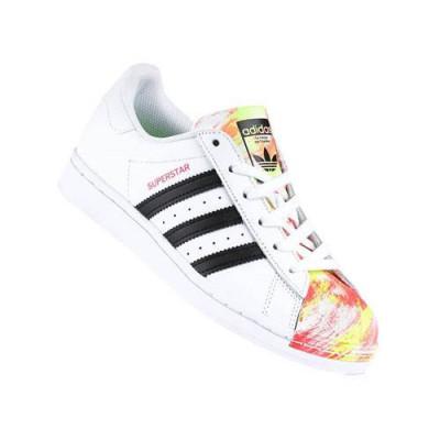 Pantofi Copii Adidas Superstar J FW0784 foto
