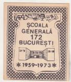 bnk div - Ecuson Scoala generala 172 Bucuresti 1959-1973 - carton