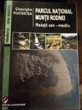 Parcul național munții Rodnei cu autograful autorului