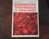 Vladimir Trebici Ilie Hristache Demografia teritoriala a Romaniei, princeps