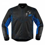 Geaca textila Icon Wireform, negru/albastru, XL Cod Produs: MX_NEW 28203591PE