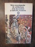 Mică enciclopedie de arhitectură, arte decorative și aplicate moderne - P. C-tin