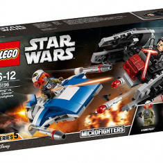 LEGO Star Wars - A-Wing contra TIE Silencer Microfighters 75196