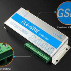 Releu GSM CL4-GSM 9-15V 4 canale 10A cu aplicatie Android / IOS