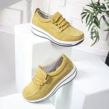 Pantofi dama Piele casual galbeni Olato