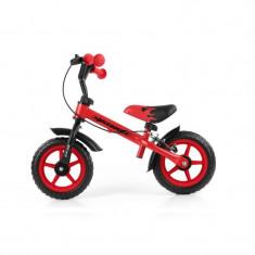 Bicicleta fara pedale cu frana Dragon Red