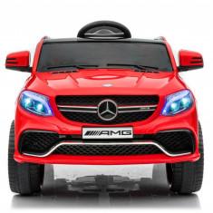 Masinuta electrica Mercedes GLE63S 2x22W 12V PREMIUM Rosu