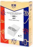 Sac aspirator AEG GR. 11,13, hartie, 5 x saci, KM, K&m