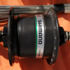 Dinam Shimano in butuc DH-3N20, 28, 27