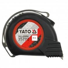 Ruleta Yato YT-7112, lungime 8mx25mm