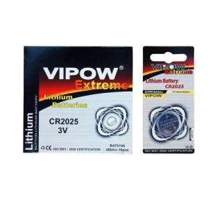Baterie vipow extreme cr2025 1 buc/blister