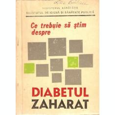 Ce Trebuie Sa Stim Despre Diabetul Zaharat - Iulian Mincu
