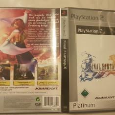 [PS2] Final Fantasy X Platinum - joc original Playstation 2
