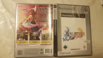 [PS2] Final Fantasy X Platinum - joc original Playstation 2 foto