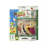 Poochy and Yoshis Wooly World + Poochy Amiibo /3DS