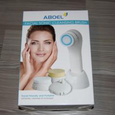 Aboel - Perie electrica pentru ingrijire corp si fata