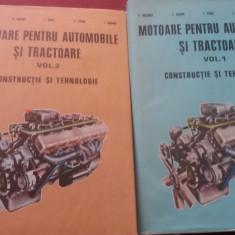 MOTOARE PENTRU AUTOMOBILE SI TRACTOARE 2 VOL