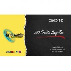 Pachet 200 Credite Server Easy-Box