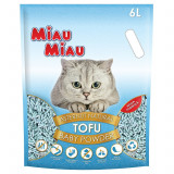 Asternut natural din tofu, Miau Miau, Baby Powder, 6l