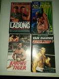 VHS 4 Casete Video Originale cu Van Damme Actiune