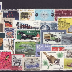 7- lot timbre diverse tari