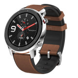 Smartwatch Amazfit T-Rex Rock, ecran 1.39 inch, Bluetooth 5.0, 410 mAh, GPS, incarcare magnetica, Stainless Steel