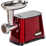 Masina de tocat carne Daewoo DMG099R, 1300 W, Capacitate 1 kg/min, Accesoriu carnati, 3 Discuri de taiere, Rosu