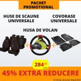 Pachet Promotional Huse Scaune & Husa Volan & Covorase PP17