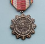 Medalia  -  A XXV-a ANIVERSARE A ELIBERARII PATRIEI