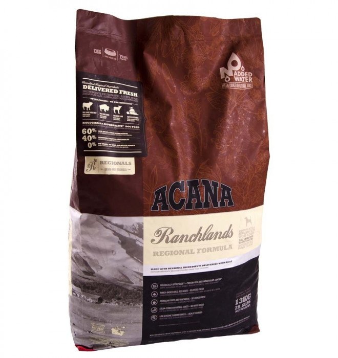 Acana Dog Ranchlands 11.4 kg + recompense Tail Swingers 100 g