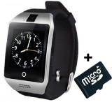 Cumpara ieftin Smartwatch cu telefon iUni Apro U16, Camera, BT, 1.5 inch, Argintiu + Card MicroSD 4GB Cadou