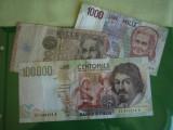 100000 lire 1994 ITALIA + 1000 lire 1990 + 1000 lire 1982