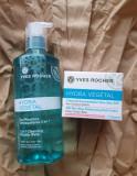SET HYDRA VEGETAL Gel crema 48 ore + Apa micelara 400 ml Yves Rocher