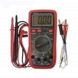 Multimetru digital PRC VOLT61A, 10 functii (Rosu)