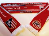 Fular fotbal PSV EINDHOVEN (Olanda) - ATLETICO MADRID (Spania) 2016