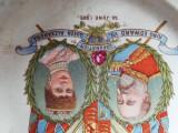 FARFURIE DECOR FOARTE VECHE 20JUNE1902 - INCORONAREA  KING EDWARD VII ALEXANDRA