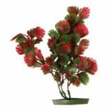 Planta de acvariu- plastic, 25 cm frunze roşu- verzui