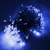 Instalatie tip turturi, 8 metri cu 200 de leduri – Albastra