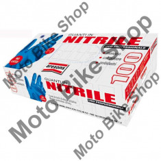 MBS Manusi nitril pentru lucru, albastre, fara talc, marime XL, 100 de manusi - 50 perechi, Cod Produs: 267200250RM